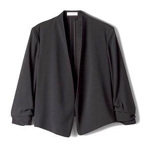 ARITZIA Babaton Power Short Open Blazer Black 2